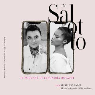 008 #insalottocon Maria Campadel - PR
