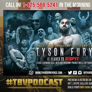 ☎️Tyson Fury Doubles Downs with ESPN😱Wilder Fight Dead💀Or is it a Good Thing⁉️