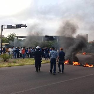#22Ene TITULARES CAIGA QUIÉN CAIGA SIN CENSURA Caracas PROTESTO