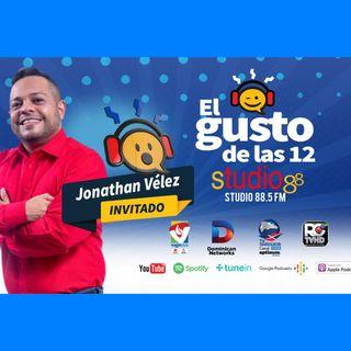 El Gusto de las 12- Episodio 59- 19-Septiembre-2019 Jhonnatan Velez