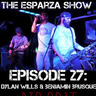 Episode 27: Dylan Wills and Ben Brusque of Big Goat (discussing Spotify, new music, the demise of The Suicide Chords, Elton John, and more)