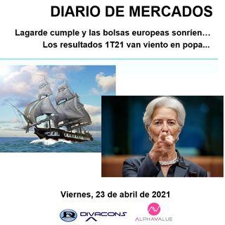 DIARIO DE MERCADOS Viernes 23 Abril