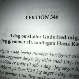 Lektion 346. Et kursus i mirakler.