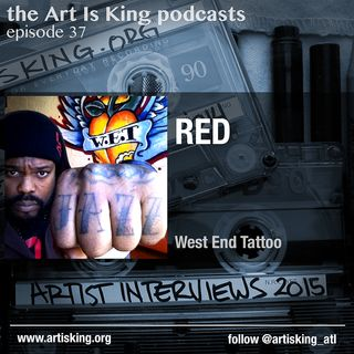 Art Is King podcast 037 - Red Cooley