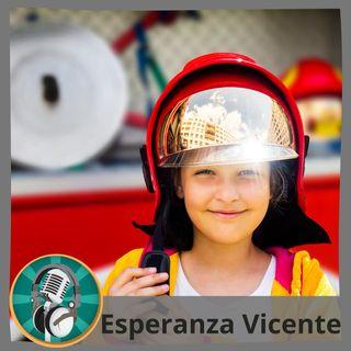Daría Rusnak con Esperanza Vicente