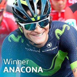 El gregario de confianza: Winner Anacona