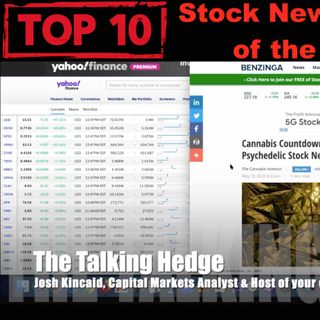 Top 10 Pot Stock News Stories of the Week (May 18, 2020)
