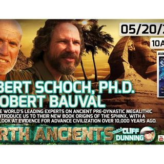 Robert Schoch, Ph.D. & Robert Bauval: Origins of the Sphinx