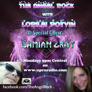 """The Angel Rock With Lorilei Potvin"" Damian Gray, Paranormal Researcher of Black Lotus Productions!"