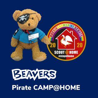 Beavers Pirate CAMP@HOME