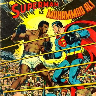 "Source Material #199 - ""Superman vs. Muhammad Ali"" (DC, 1978)"