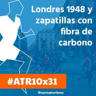 ATR 10x31- Zapatillas de fibra de carbono y corredores populares; los JJOO de 1948