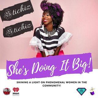 ShesDoingIt: Beautiful Convo With Cynthia Bailey