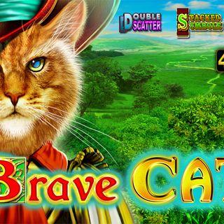 Slot&Pacanele BRAVE CAT 🐱 EGT