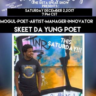 COMING TO THE STAGE :  SPECIAL GUEST SKEET DA YUNG POET