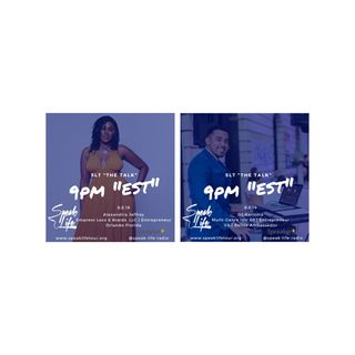 "8.8 SLT ""the TALK"" - Alexandria Jeffrey & DJ Karizma"