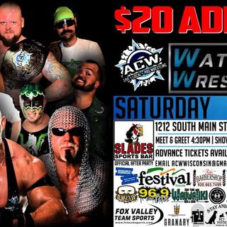 WWE post Mania episodes, NXT goes to War, ACW Watercity WrestleCon Preview!!