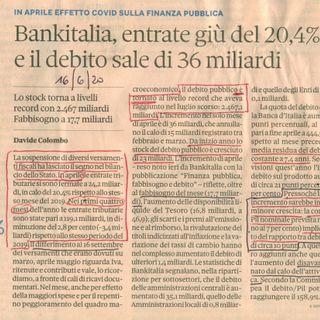 Fisco entrate e spese - il Covid-19 cambia l'approccio (2 luglio 2020)