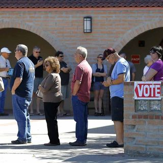 5-Hour Voting Lines in Arizona With No Voting Rights Act