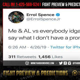 "☎️Errol Spence 🗣""Arum Failed Crawford""😱Promotes🤦🏽♂️Lomachenko BETTER😱"