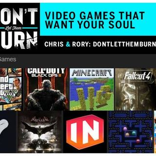 Video Games that Want Your Soul