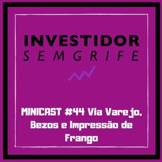MINICAST #44 Via Varejo, Bezos e Impressão de Frango