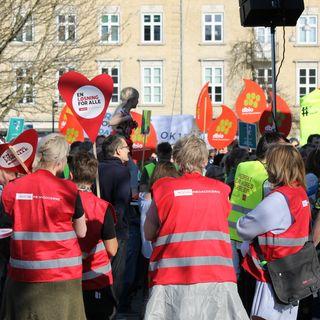 Konflikten om den offentlige sektor forstærkes - 21. april 2018