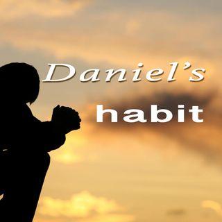Daniel 6:10, Daniel's habit