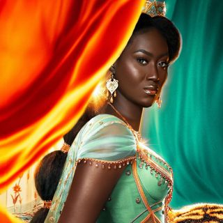 Symone Seven Talks Disney Princess Portraits