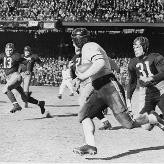 TGT presents On This Day: December 8, 1940 NFL Championship the Bears beat the Redskins 73-0