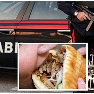 Due tossicodipendenti si drogano in pubblico e nella notte rubano al kebab. Identificati
