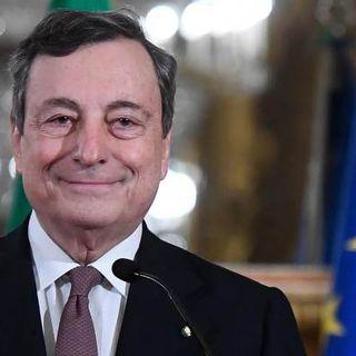 """Assemblea Confindustria, Draghi: """"Non aumenteremo le tasse. La ripresa sia duratura e sostenibile"""""""