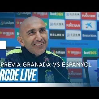 Roda de premsa d'Abelardo prèvia al Granada vs Espanyol