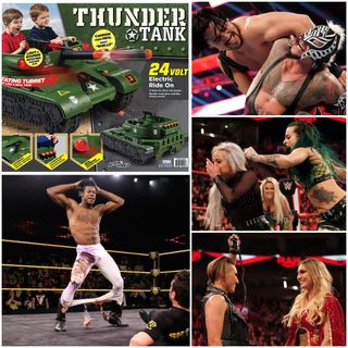 Ep 96 - Justice for Cyborg Han Pt 2: Thunder Tank (WWE, NXT, Fast 9, and Spiral/Saw Chat)
