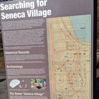 Seneca Village, el barrio de Nueva York que Central Park destruyó