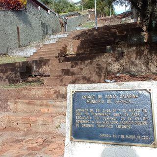 Escadaria Orestes Francisco Antunes