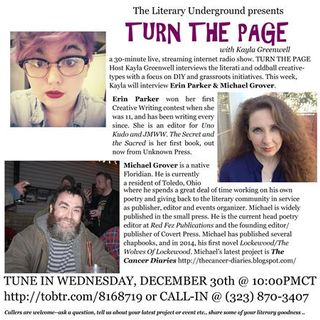 Turn the Page with Kayla Greenwell: Focus on Erin Parker & Michael Grover