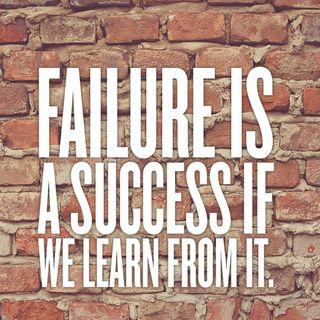 Top3 que aprendi de mis fracasos