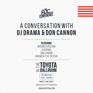 Live from A3C with DJ Drama and Don Cannon