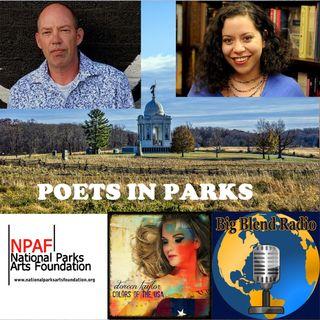 Poets in Gettysburg - Xochitl-Julisa Bermejo and Steve Bellin-Oka on Big Blend Radio