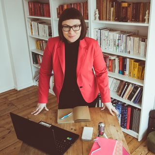 Berufliche Erfolge - Frauen und Migrantinnen in Medien. Gespräch mit Joanna Stolarek (DE)