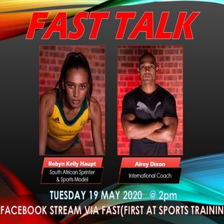 Ep1: FAST Talk with Robyn Haupt