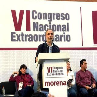 Ramírez Cuellar nuevo líder nacional de Morena
