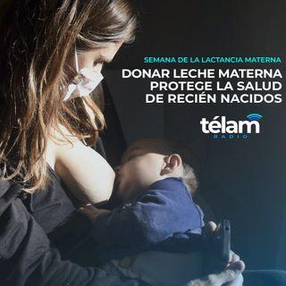 Donar leche materna protege la salud de recién nacidos