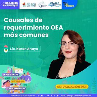 Episodio 156. Causales de requerimiento OEA más comunes