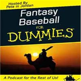 Fantasy Baseball for Dummies straight from Pete In Jordan