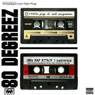 1980s Rap Attack 3 Mastermix(sony)