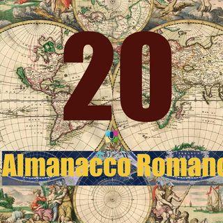 Almanacco romano - 20 novembre