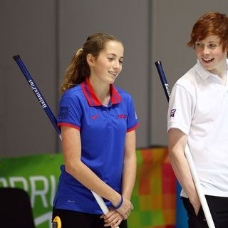 The Olympic Show:United States Curling Team Jenna Haag and Taylor Anderson