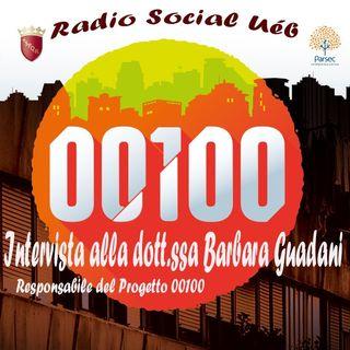 """Radio Social Uéb """"intervista Progetto 00100"""""""